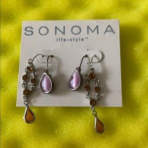 6/$20! SONOMA DOUBLE PACK OF EARRINGS NWT